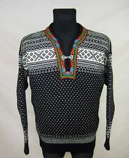 DALE OF NORWAY WOMENS WOOL JUMPER SWEATER NORWAY size XXL Fair Isle Nordic
