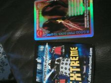 dr who monster extreme set from 166 to 344 NO INFINITE CARD