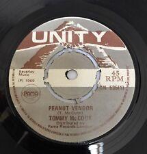 Tommy Mc Cook ' Peanut Vendor' Original Uk 45' Unity 1969!!