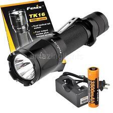 Fenix TK16 1000 Lumen LED Flashlight w/ Fenix 3500mAh 18650 Battery and Charger
