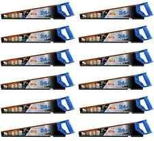 """10x bahco 22""""/550mm 244 point dur universel bois/bois de coupe scie à main moyen"""