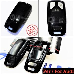 Cover Protettiva RIGIDA per Chiave Audi Q5 FY guscio NERO Mascherina Telecomando