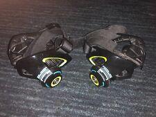 Razor Jetts Heel Wheels Green/Blue-Adjustable Strap On Skates