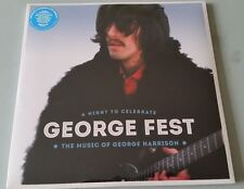 GEORGE FEST MUSIC of George Harrison LIVE TRIBUTE 3LP vinyl pressing Beatles