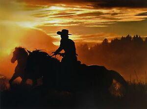 "BOBBIE GOODRICH, ""Sunset Glow"", Open Edition, Image Size: 18""h x 24""w"