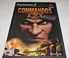 Commandos 2 Men of Courage PS2 PAL *Complete*