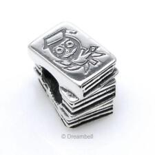 Sterling Silver Education Children Story Book Bead For European Charm Bracelets