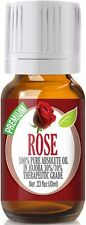 "Rose Absolute Essential Oil 10ml - Premium Grade Oil  ""FREE SHIPPING"""