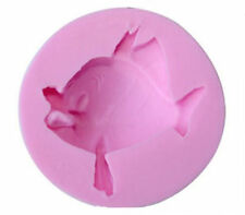 Cute Fish Silicone Mold for Chocolate, Fondant, Cake Decorating, Crafts