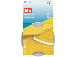 Prym Wonder Tape Fixierband doppelseitig 6 mm / 9 Meter #987125
