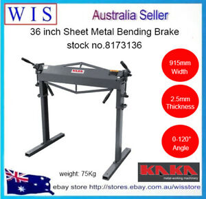"""36"""" Sheet Metal Bending Brake,Solid Construction with Steel Frame Stand-8173136"""