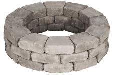 Greystone RumbleStone Tree Ring Kit Concrete Barrier Protect Root System 39""