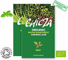 CHICZA THE ORGANIC RAINFOREST CHEWING GUM -  1 x 30g WILD MINT CHICZA