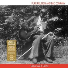 Blind Gary Davis - Pure Religion And Bad Company Deluxe Gatefold Edition