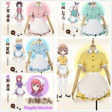 Blend S Kaho Hinata Mafuyu Maika Hideri Miu Amano Maid Dress Cosplay Costume