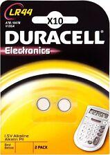 20 Pilas de botón LR44 DURACELL V13GA AG13 L1154 A76 KA76 DLC 2020