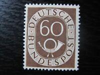 GERMANY Mi. #135 mint MNH Posthorn stamp! CV $180.00