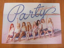 SNSD GIRLS' GENERATION - Party (Single) CD + Unfold POSTER K-POP