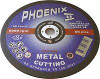 "ABRACS PHOENIX METAL CUTTING  DISCS DPC 230MM 9"" x 10"