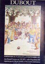 """""""FANNY"""" Affiche originale entoilée Offset DUBOUT 1987 (Marcel PAGNOL / RAIMU)"""