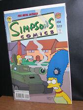 The Simpsons Bongo Comics 54 book, NM Full Metal Jackass! Homer Marge