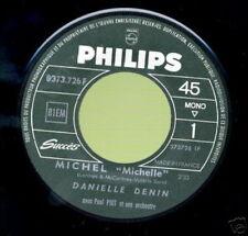 DANIELLE DENIN 45 TOURS FRANCE MICHEL (THE BEATLES)