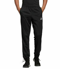 3 X adidas Mens Core 18 Tracksuit Bottoms - Trackies Track Pants Black