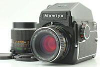 【Exc+4】 Mamiya M645 PD Prism Finder + Sekor C 80mm f/2.8 + 55mm Lens JAPAN #626
