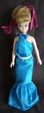 VINTAGE BARBIE 1967 TWIST N TURN SKIPPER DOLL WITH BLUE BARBIE DRESS