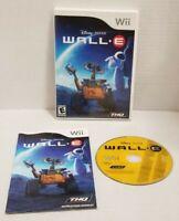 Nintendo Wii Disney Pixar WALL-E 2008 THQ Game W/ Manual - Tested Working