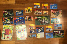 Lego Instruction Manuals Fabuland Systems Legoland Bulk Lot 390