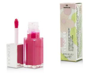 Clinique Pop Lacquer Lip Colour Color Primer Gloss Lipstick NEW Sweetie Pink