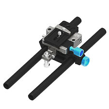 FOTGA DP500III QR 15mm Rail Rod Quick Release Baseplate fr DSLR Follow Focus Rig
