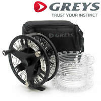 Greys GTS 500 Fly Fishing Reel With Carry Case & 2 Spare Spools All Sizes