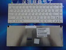 Genuine ASUS A42J K42J X42J K42D A43E K43S A43  Keyboard US English White