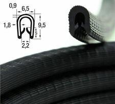KS1-2S-POM (1,84 €/m) NICHT ROSTEND Kantenschutz Profil Gummi Dichtung schwarz