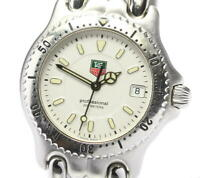 TAG HEUER S/el WG1212-K0 Date white Dial Quartz Boy's Watch_561289