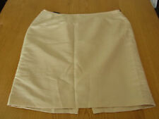 BNWT CALVIN KLEIN Lined Gold Evening Business Office Skirt Size 1X (16) B12
