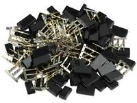 5x YUKI MODEL JR Uni Buchse Goldstecker Goldkontaktstecker Empfänger  600187