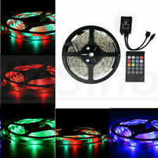 5M 3528 SMD RGB IP65 Waterproof 300 LED Strip Light + 20Keys IR Music Remote