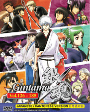 ANIME DVD GINTAMA Vol.126-185 (Box 3) Region All English Sub + FREE ANIME
