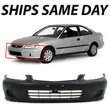NEW Primered - Front Bumper Cover Fascia for 1999 2000 Honda Civic Coupe Sedan