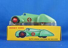DINKY TOYS AUTO UNION VOITURE DE RECORD 23D / NEUVE DANS SA BOITE