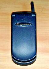 TINY MOTOROLA V3620 VINTAGE FLIP FLOP CELL PHONE CELLULAR TELEPHONE CDMA RARE