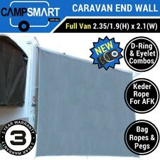 Caravan Privacy Screen End Wall Side Sunscreen Sun Shade to suit Roll Out Awning