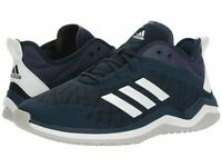 Mens Adidas Speed Trainer 4 Baseball Shoe Navy Blue/Crystal White CG5140