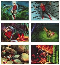 Captain Scarlet Art POSTCARD Set
