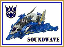 Transformers Cybertron _ Voyager Class _ Soundwave