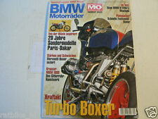 BMW MOTORRÄDER MOTORRAD SONDERHEFT MO NO 9 PARIS DAKAR MODELLE,KRAUSER MKM1000,