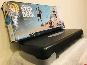 "Gold's Gym Exercise Aerobics 4"" Step Deck"
